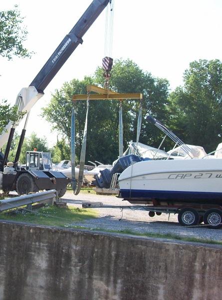 rimessaggio barche a Porto Carolina