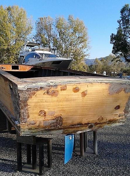 riparazione barche a Porto Carolina